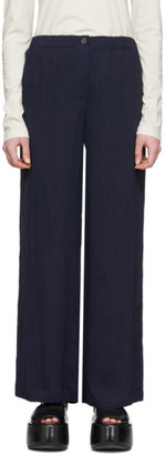 Raquel Allegra Navy Kate Trousers