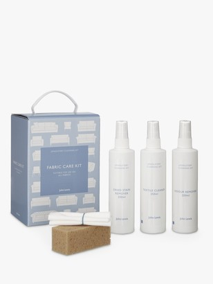 John Lewis & Partners Fabric Upholstery Cleaner & Care Kit