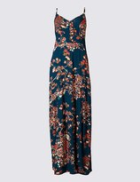 Marks and Spencer Floral Print Maxi Slip Dress