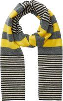 Jigsaw Islay Breton Stripe Knit Scarf