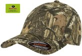 Flexfit Flex fit Fitted Low Profile Mossy Oak Camo Cotton Hat with Curved Visor - XXL (Infinity)