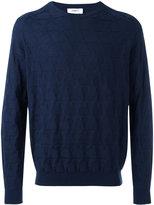 Ports 1961 star crew-neck jumper - men - Silk/Cotton - XS