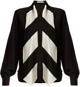 Givenchy Tie-neck silk blouse