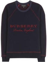 Burberry Wool And Cashmere-blend Sweater