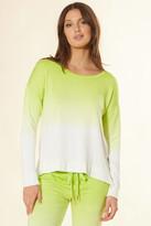 PJ Salvage Neon Ombre Sweatshirt Ivory XS