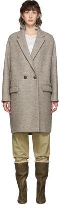 Isabel Marant Beige Wool Filipo Coat
