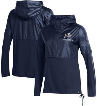 Women's Under Armour Navy Navy Midshipmen Sportstyle Hybrid Jacket