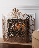 Horchow Acanthus Fireplace Screen