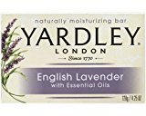 Yardley London Bar Soap - English Lavender with Essential Oils , 4.25 oz Bar (Pack of 3) by of London