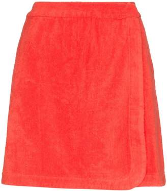 Terry Dolce wrap skirt