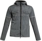 Stone Island Striped Weatherproof Hooded Jacket