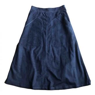 Vilshenko Blue Suede Skirts