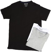 Kenneth Cole Reaction 3-Pack V-Neck Tee Men's T Shirt