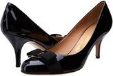 Salvatore Ferragamo Suede Mid-Heel Pump High Heels