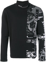Blood Brother Search roll-neck sweater