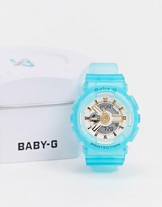 Casio Baby G BA-110SC-2AER resin watch in blue