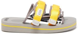 Suicoke Moto-veu3 Two-strap Technical Slides - Yellow