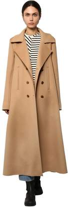 Loewe DOUBLE BREAST SWING CASHMERE CLOTH COAT