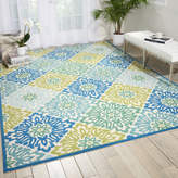 "Waverly Sun n' Shade ""Sweet Things"" Marine Indoor/Outdoor Area Rug Rug"