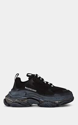 Balenciaga Women's Triple S Platform Sneakers - Black