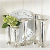 Twos Company Two's Company Plaza Vases Set of 5 - Silver