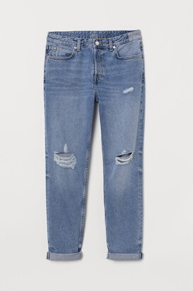 H&M Boyfriend Low Jeans