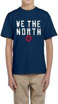 Hera-Boom Boys And Girls Toronto Raptors Basketball WE THE NORTH Maple Leaf T-shirts