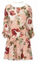 My Michelle Big Girls 7-16 Floral-Print A-Line Dress