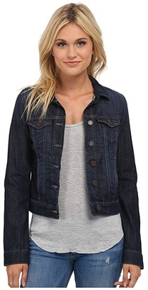 Mavi Jeans Samantha Denim Jacket in Dark Nolita (Dark Nolita) Women's Coat