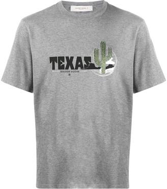 Golden Goose Texas print T-shirt