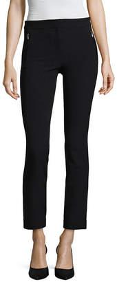 WORTHINGTON Worthington Zipper Ankle Pant - Tall Inseam 30