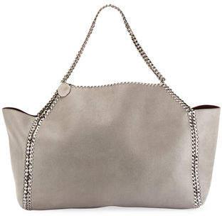 Stella McCartney Falabella Medium Shaggy Deer Reversible Tote Bag