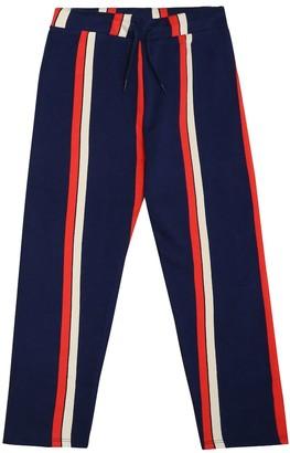 Mini Rodini Stripe cotton trackpants