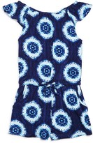 Design History Girls' Tie-Dye Romper