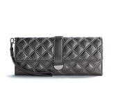 Quilted 3 For All Wristlet - Pewter