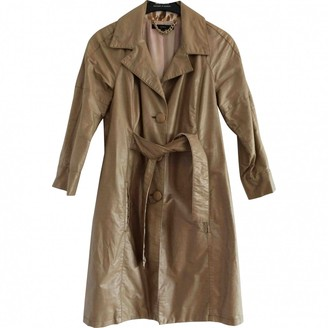 Elisabetta Franchi Beige Trench Coat for Women