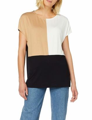 Dorothy Perkins Women's Ac:Camel Col Block T T-Shirt