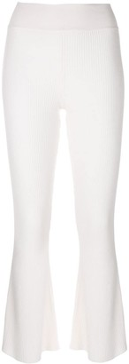 Cashmere In Love cashmere Candiss flared knit trousers