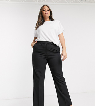 ASOS DESIGN Curve tailored straight leg pant