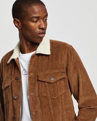 Barney Cools B.Rigid Sherpa Collar Jacket