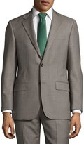 Hickey Freeman Classic-Fit Sharkskin Two-Piece Suit Gray