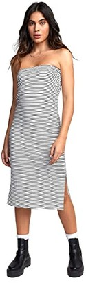 RVCA Steady Dress (Off-White) Women's Dress
