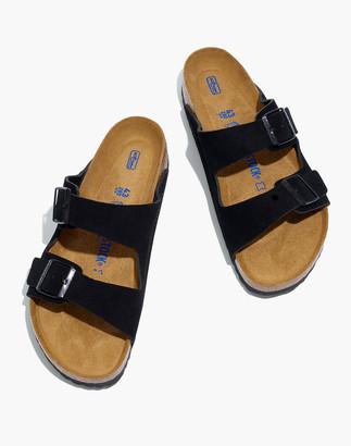 Madewell Birkenstock Suede Arizona Sandals