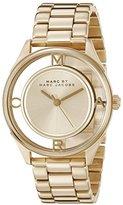 Marc by Marc Jacobs Women's MBM3413 Tether Gold-Tone Bracelet Watch