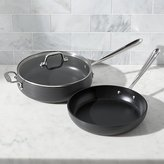 Crate & Barrel All-Clad ® Hard Anodized 3-Piece Set
