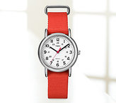 Timex Red-Strap Weekender Watch