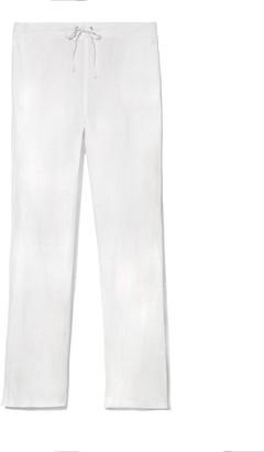 Vince Camuto Linen Drawstring-waist Pants