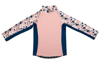 Stonz Kids Top - Camo Pink