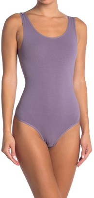Yummie by Heather Thomson Ruby Scoop Neck Shaping Thong Bodysuit