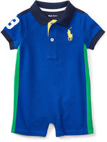 Ralph Lauren Boy Cotton Mesh Polo Shortall